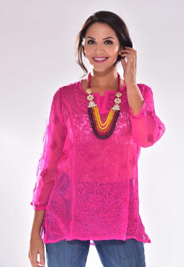 laality-nishma-chiffon-kurti-indian-clothing