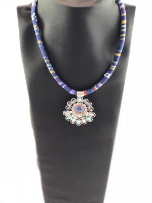 laality-uk-boho-navy-fabric-necklace-indian-accessories