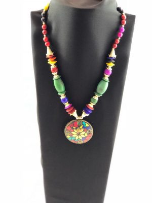 laality-uk-multi-coloured-Beads-necklace-accessories