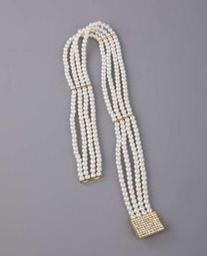 Elasticated Pearl Belt