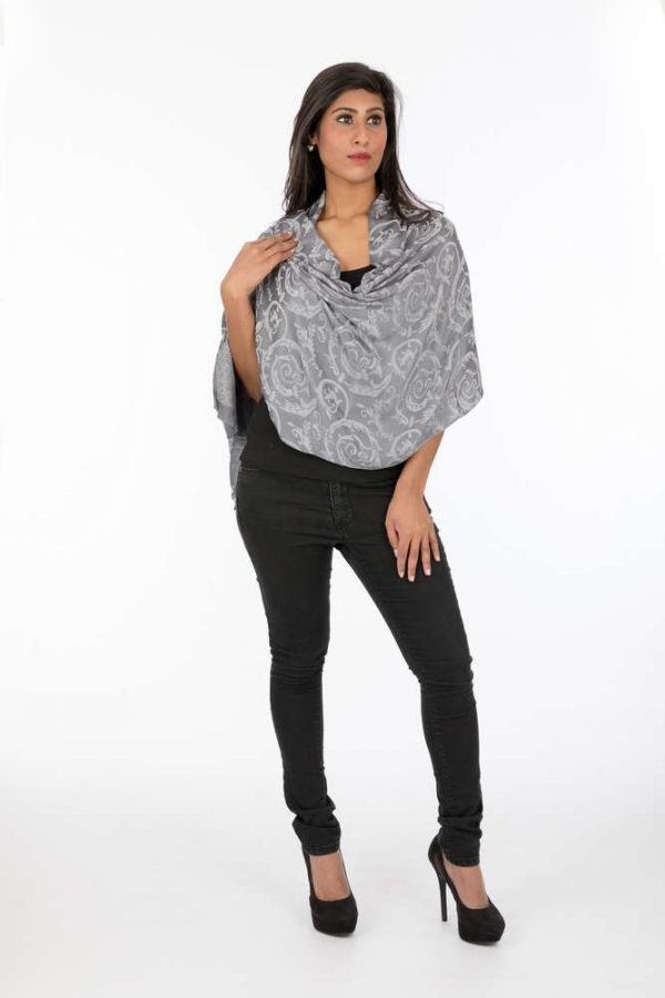 laality-uk-grey-polyester-viscose-scarf-scarves-uk