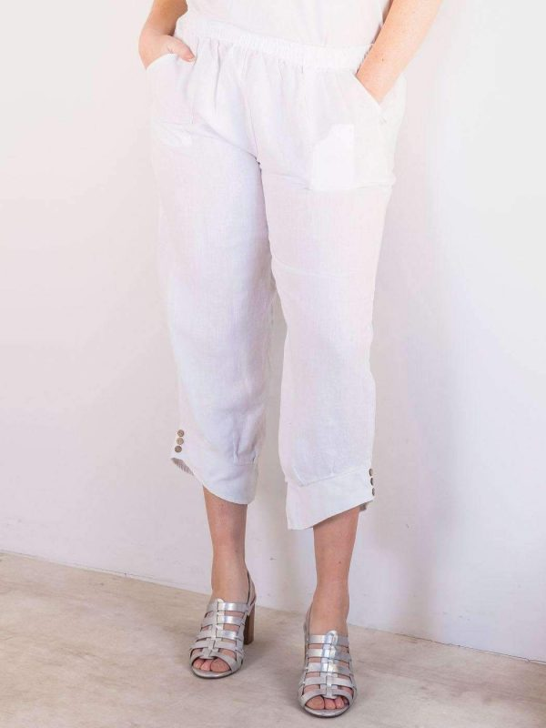 laality-uk-button-cuffed-hem-trousers-western-clothing