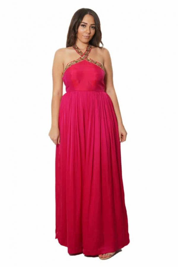 laality-uk-nilu-pink-silk-dress-indian-clothing-uk